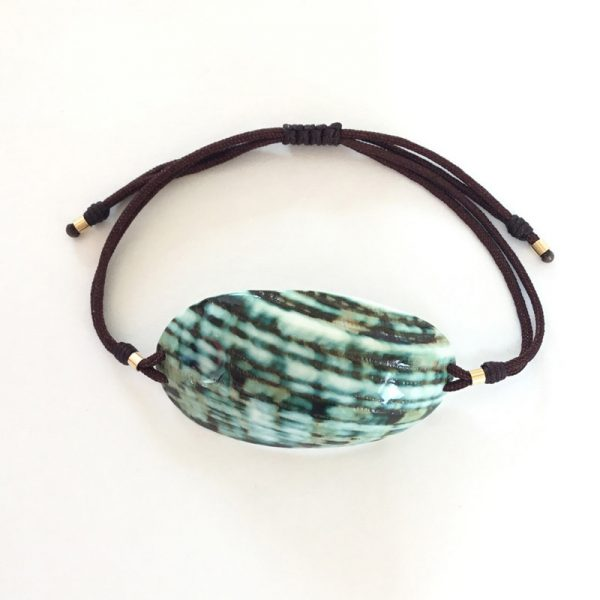 myshell-bracelet-seashell-green-cut