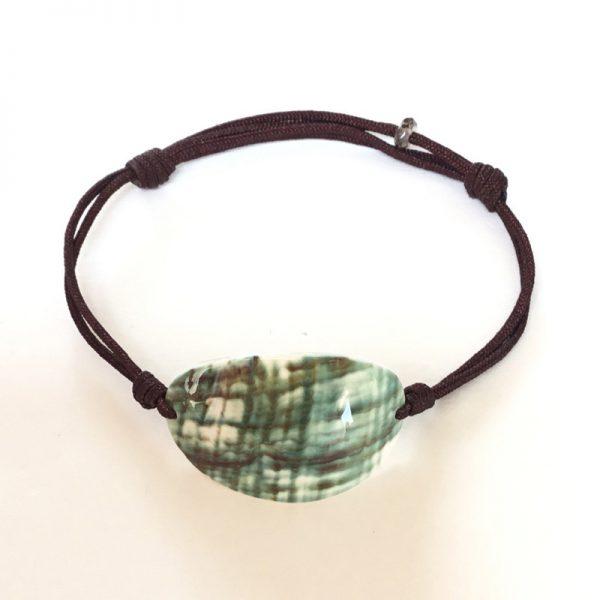 myshell-bracelet-seashell-green-cut