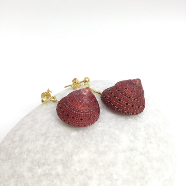 myshell-earrings-seashell-strawbbery